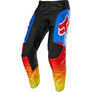 OFFER FOX YOUTH 180 FYCE PANT 2020 BLUE/RED COLOUR