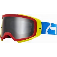 FOX AIRSPACE II PRIX GOGGLE 2020 BLUE/RED COLOUR - MIRROR SPARK LENS