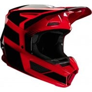 FOX YOUTH V2 HAYL HELMET 2020 FLAME RED COLOUR