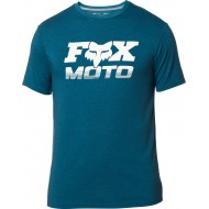 CAMISETA TÉCNICA FOX CHARGER COLOR AZUL JASPEADO