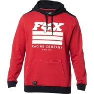 SUDADERA FOX STREET LEGAL COLOR ROJO CARDENAL