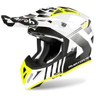 AIROH AVIATOR ACE NEMESI HELMET 2020 WHITE GLOSS COLOUR