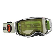 SCOTT PROSPECT SPECIAL EDITION BRENDAN FAIRCLOUGH GOGGLE 2020 COLOR KAKI GREEN - YELLOW CHROME WORKS LENS