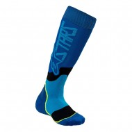 ALPINESTARS YOUTH MX PLUS-2 SOCKS 2021 BLUE / CYAN COLOUR