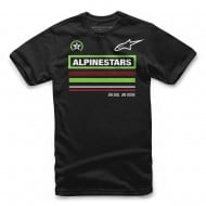 OFFER ALPINESTARS YOUTH MULTI TEE BLACK COLOUR