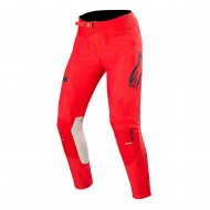 OFFER ALPINESTARS SUPERTECH PANT 2020 BRIGHT RED / NAVY / OFF WHITE COLOUR