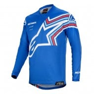 ALPINESTARS YOUTH RACER BRAAP JERSEY 2020 BLUE / OFF WHITE COLOUR