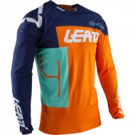 OUTLET CAMISETA INFANTIL LEATT GPX 3.5 JR 2020 COLOR NARANJA