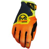 OUTLET GUANTES INFANTILES MOOSE SX1 COLOR NARANJA/AMARLLO FLUOR - TALLA L INF