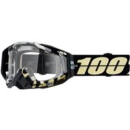 MOTOCROSS GOGGLE 100% RACECRAFT PINACLES - CLEAR LENS