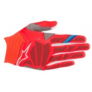 OFFER ALPINESTARS AVIATOR GLOVES 2019 COLOR RED / BURGUNDY