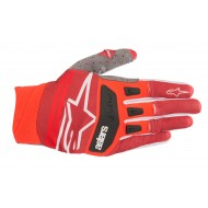OFFER ALPINESTARS TECHSTAR GLOVES 2019 COLOR RED / BURGUNDY