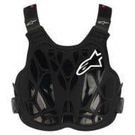 OUTLET PETO INFANTIL ALPINESTARS A-8 LIGHT NEGRO-BLANCO-ROJO