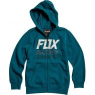 OFFER FOX YOUTH OVERDRIVE ZIP FLEECE MAUI BLUE COLOUR
