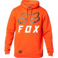 OUTLET SUDADERA FOX HERITAGE FORGER PO COLOR NARANJA ATOMIC