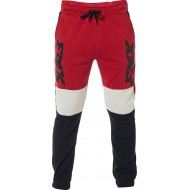 OFFER FOX LATERAL MOTO PANT BLACK / RED COLOUR