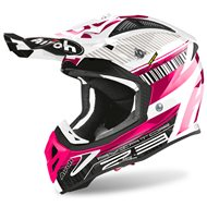 CASCO AIROH AVIATOR 2.3 NOVAK 2020 COLOR ROSA CROMO