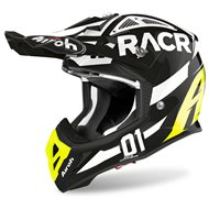 CASCO AIROH AVIATOR ACE 2020 COLOR RACR BRILLANTE