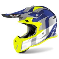 CASCO AIROH TERMINATOR OV SHOOT 2020 COLOR AZUL BRILLO