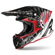CASCO AIROH TWIST 2.0 KATANA 2020 COLOR ROJO BRILLO