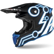 CASCO AIROH TWIST 2.0 NEON 2020 COLOR AZUL MATE