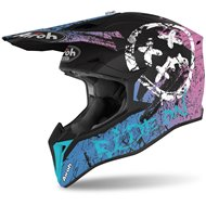CASCO AIROH WRAAP SMILE 2020 COLOR VIOLETA MATE