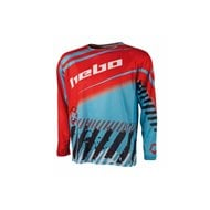 HEBO END-CROSS STRATOS JERSEY COLOR TURQUOISE