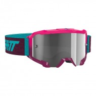 LEATT VELOCITY 4.5 GOGGLE 2020 NEON PINK COLOUR CLEAR 83% LENS