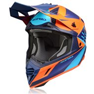 ACERBIS X-TRACK HELMET 2020 BLUE / YELLOW COLOUR