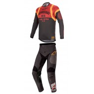 OFFER COMBO ALPINESTARS RACER TECH FLAGSHIP 2020 BLACK / CARK COLOR NEGRO / GRIS OSCURO