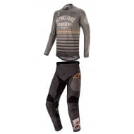 OFFER COMBO ALPINESTARS RACER TECH FLAGSHIP 2020 DARK GREY / BLACK / ORANGE