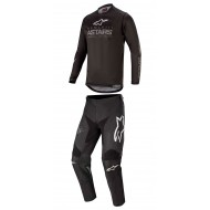 COMBO ALPINESTARS RACE GRAPHITE 2020 BLACK / DARK GREY COLOUR