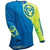 CAMISETA QUALIFER 2020 COLOR AZUL / AMARILLO FLUOR