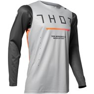 OFFER THOR PRIME PRO TREND JERSEY 2020 CHARCOAL / GREY COLOUR