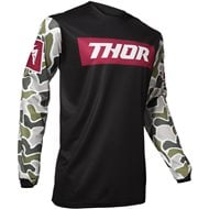 OFFER THOR PULSE FIRE JERSEY 2020 BLACK / MAROON COLOUR