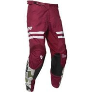 OFFER THOR PULSE FIRE PANT 2020 BLACK / MAROON COLOUR