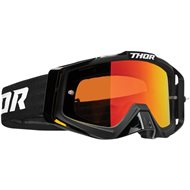 THOR SNIPER PRO SOLID GOGGLES 2020 BLACK COLOUR - RED LENS