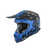 JUST1 J32 PRO SWAT BLUE/CAMO HELMET
