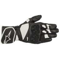 ALPINESTARS SP-1 V2 GLOVES BLACK/WHITE COLOR