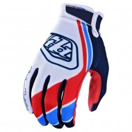 OUTLET GUANTES TROY LEE 2020 AIR SECA BLANCO / AZUL MARINO