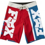 FOX YOUTH VICTORY BOARDSHORT BLUE / RED COLOUR
