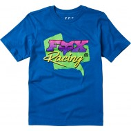 FOX YOUTH CASTR SHORT SLEEVE TEE ROYAL BLUE COLOUR