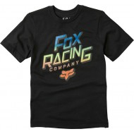 FOX YOUTH CRUISER SHORT SLEEVE TEE BLACK COLOUR