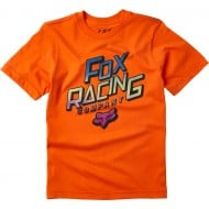FOX YOUTH CRUISER SHORT SLEEVE TEE ORANGE FLAME COLOUR