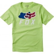 FOX YOUTH CHROMATIC SHORT SLEEVE TEE LIME COLOUR