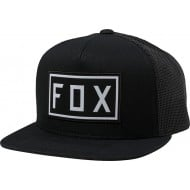 FOX YOUTH DRIVETRAIN SNAPBACK HAT BLACK COLOUR