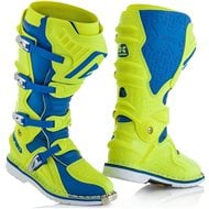 ACERBIS X-MOVE 2.0 BOOTS COLOR BLUE/FLUO