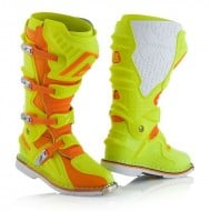 OFFER ACERBIS X-MOVE 2.0 BOOTS COLOR ORANGE/FLUO