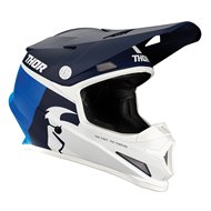 CASCO THOR SECTOR RACER 2021 COLOR AZUL MARINO / AZUL