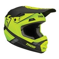 CASCO INFANTIL THOR SECTOR SPLIT 2020 COLOR ÁCIDO / NEGRO